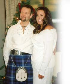 Scottish Christian singles succes story testimonial wedding